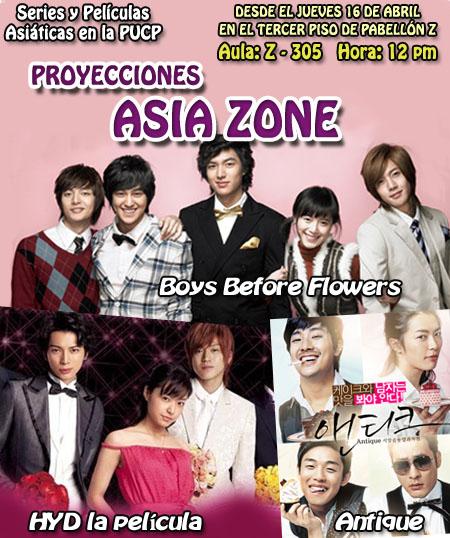 Proyecciones Asia Zone