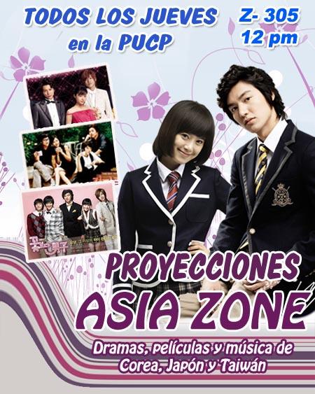 2da Proyeccion Asia Zone