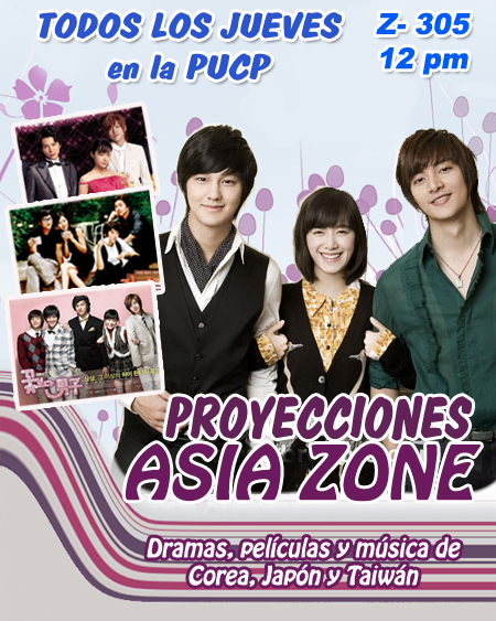 Proyeccion Asia Zone