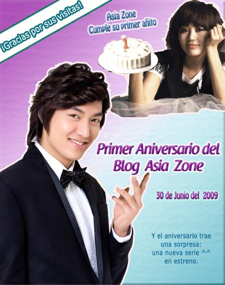 Primer Aniversario Asia Zone