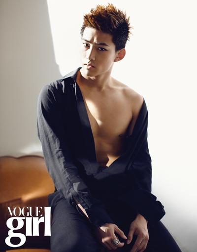 2PM en Vogue Girl