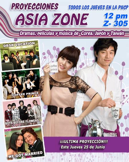 Decima Proyeccion Asia Zone