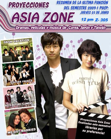 Undecima Proyección Asia Zone