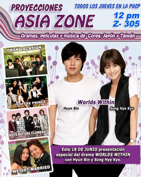 Novena Proyección Asia Zone