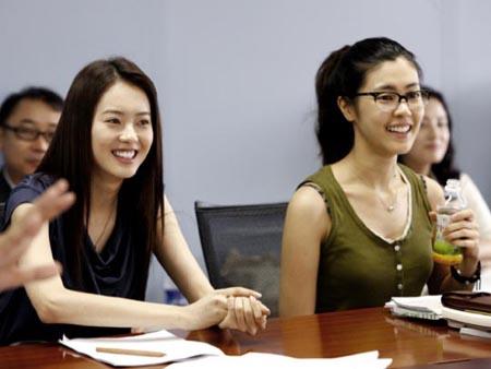 Go Ara y Lee Yoon Ji
