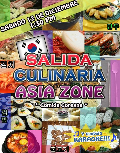 salida culinaria asia zone