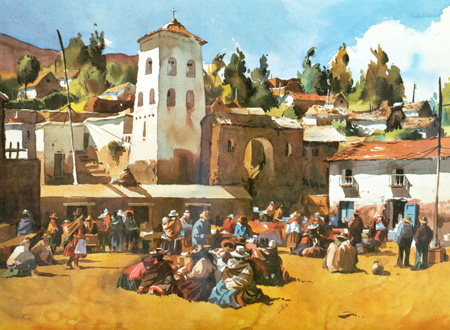 Mención Honrosa 2da edición Concurso Nacional de Pintura Michell