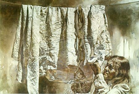 Sabana Vieja - Primer Premio Acuarela - Concurso Michell 1988