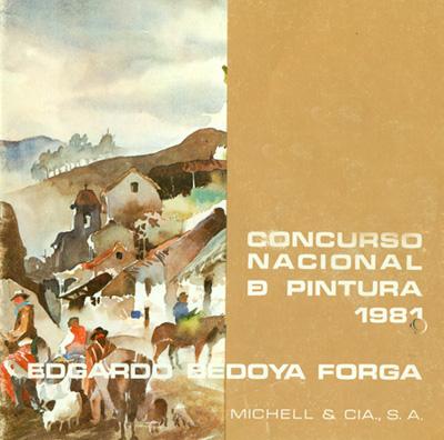 Primer Catálogo Concurso Nacional Michell + 1981