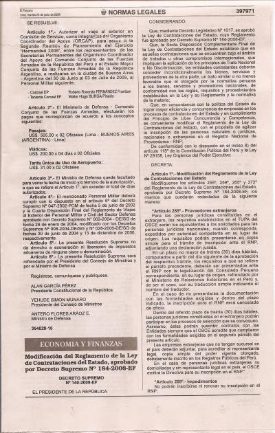 Decreto Supremo 140 Parte 1
