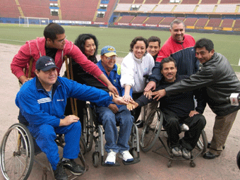 Peru Equipo Participante Parapanamericano Brasil Rio 2007