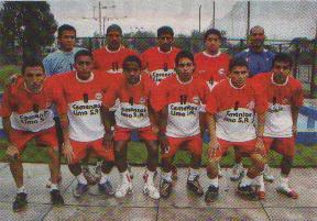 Equipo Peruano de Futsal en el Mundial de Argentina 2007