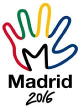 Logo Olimpiadas Madrid 2016