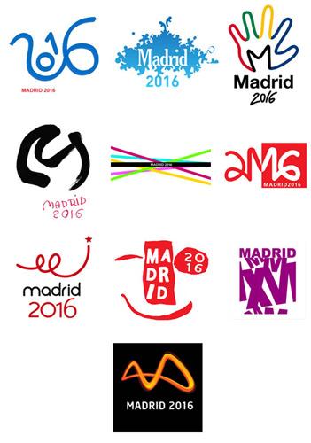 Logos Madrid 2016