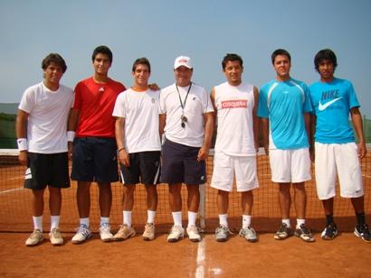 Nueva Seleccion peruana de Tenis