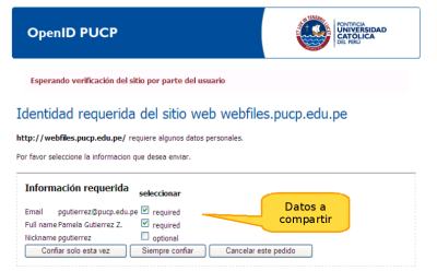 OpenID PUCP