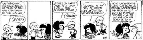 mon chère, ma petite mafalda