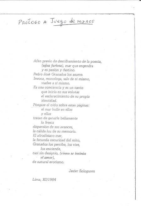 Javier Sologuren