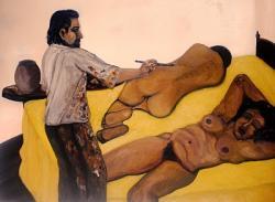 20110725-Ivan-Fernandez-Davila-El-pintor-y-las--modelos-oleo-sobre-lienzo--100-x-130-cm---2010.JPG