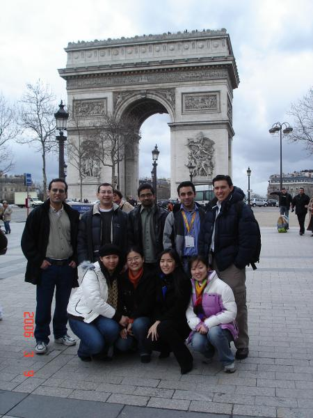 Estudiantes del Master Management in Logistic and Productions Systems, Paris , Francia